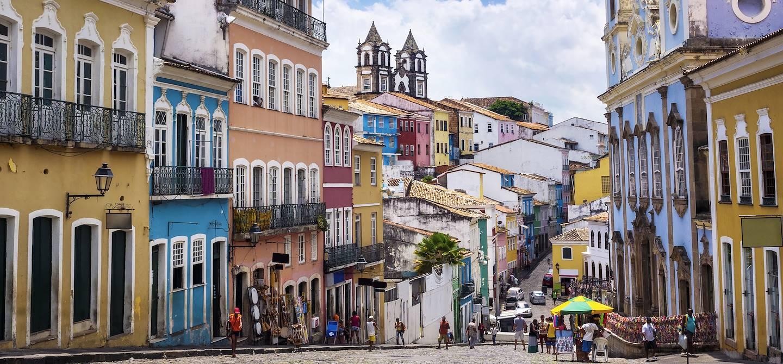 Quartier de Pelourinho - Salavdor de Bahia - Brésil