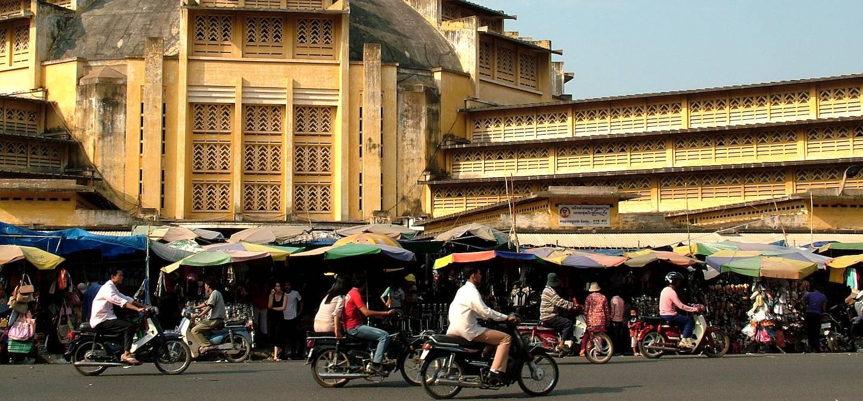 Marché central de Phnom Penh - Cambodge
