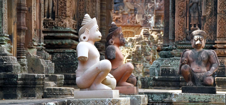 Temple de Banteay Srei - Province de Siem Reap - Cambodge