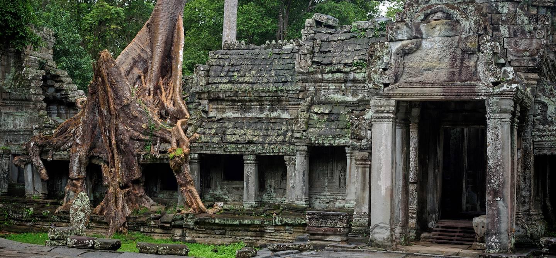 Temple de Preah Khan - Siem Reap - Cambodge