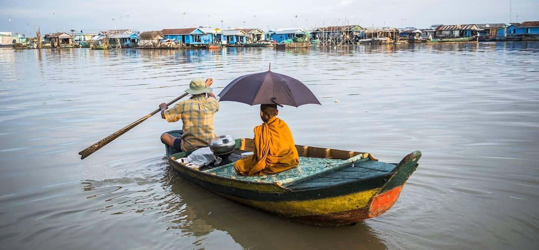 Sur le lac Tonle Sap - Province de Siem Reap - Cambodge