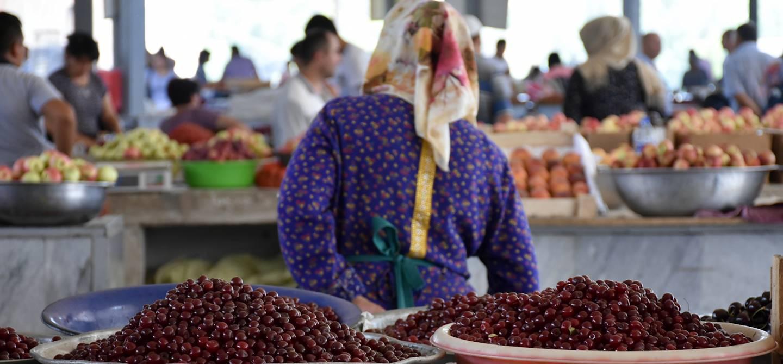 Bazar de Tchorsou - Tachkent - Ouzbékistan