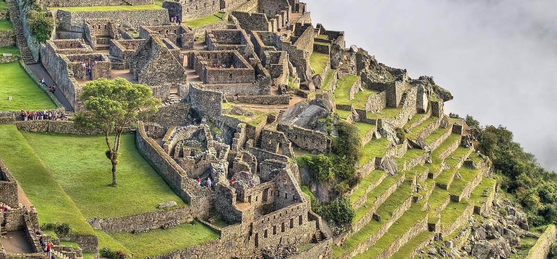 Vue sur le Machu Picchu - Pérou