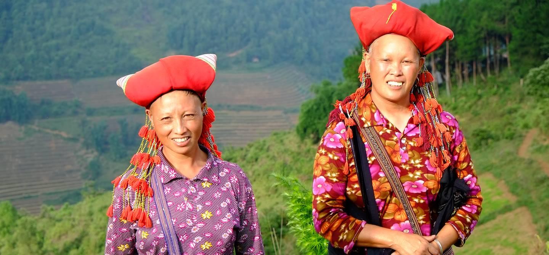 Portrait de femme de la tribu Dao - Sapa - Vietnam