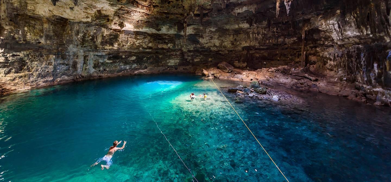 Cenote Samula - Etat du Yucatan - Mexique