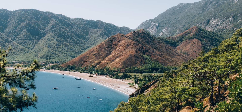 Olympos - Côte lycienne - Région méditerranéenne - Turquie