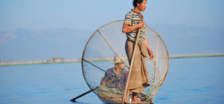 Autour de Lac Inle - Birmanie