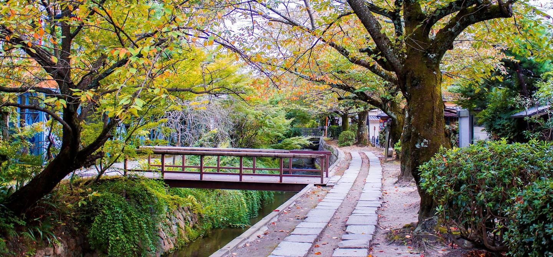 La voie du philosophe - Kyoto - île d'Honshu - Japon
