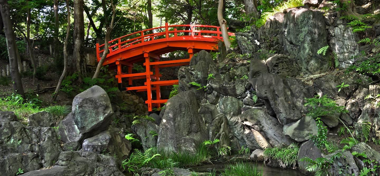 Tsutenkyo bridge - Koishikawa Korakuen - Tokyo - Japon