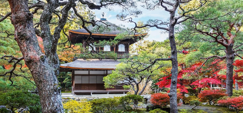 Temple Ginkaku-ji à Kyoto - Région du Kansai - Japon