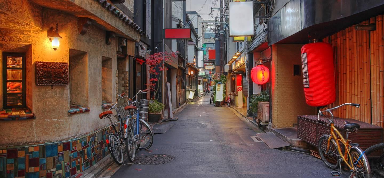 Rue de Ponto-chô - Kyoto - Japon