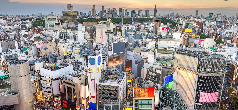 Quartier de Shibuya - Tokyo - île Honshu - Japon