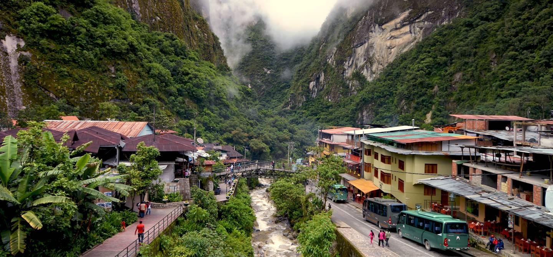 Village de Aguas Calientes - Province d'Urubamba - Pérou
