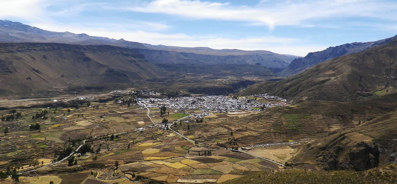 La ville de Chivay dans le Canyon de Colca - Pérou