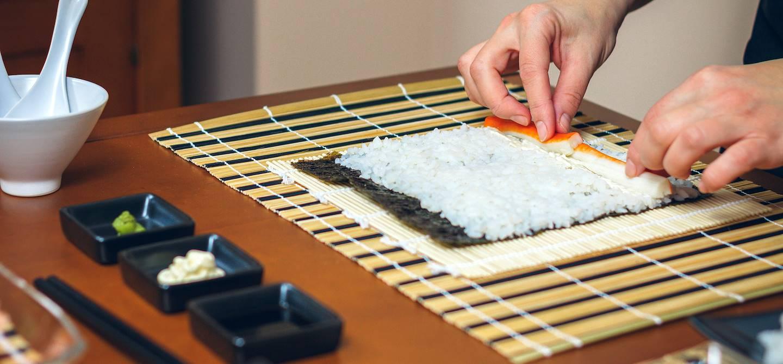 Atelier de sushi - Japon