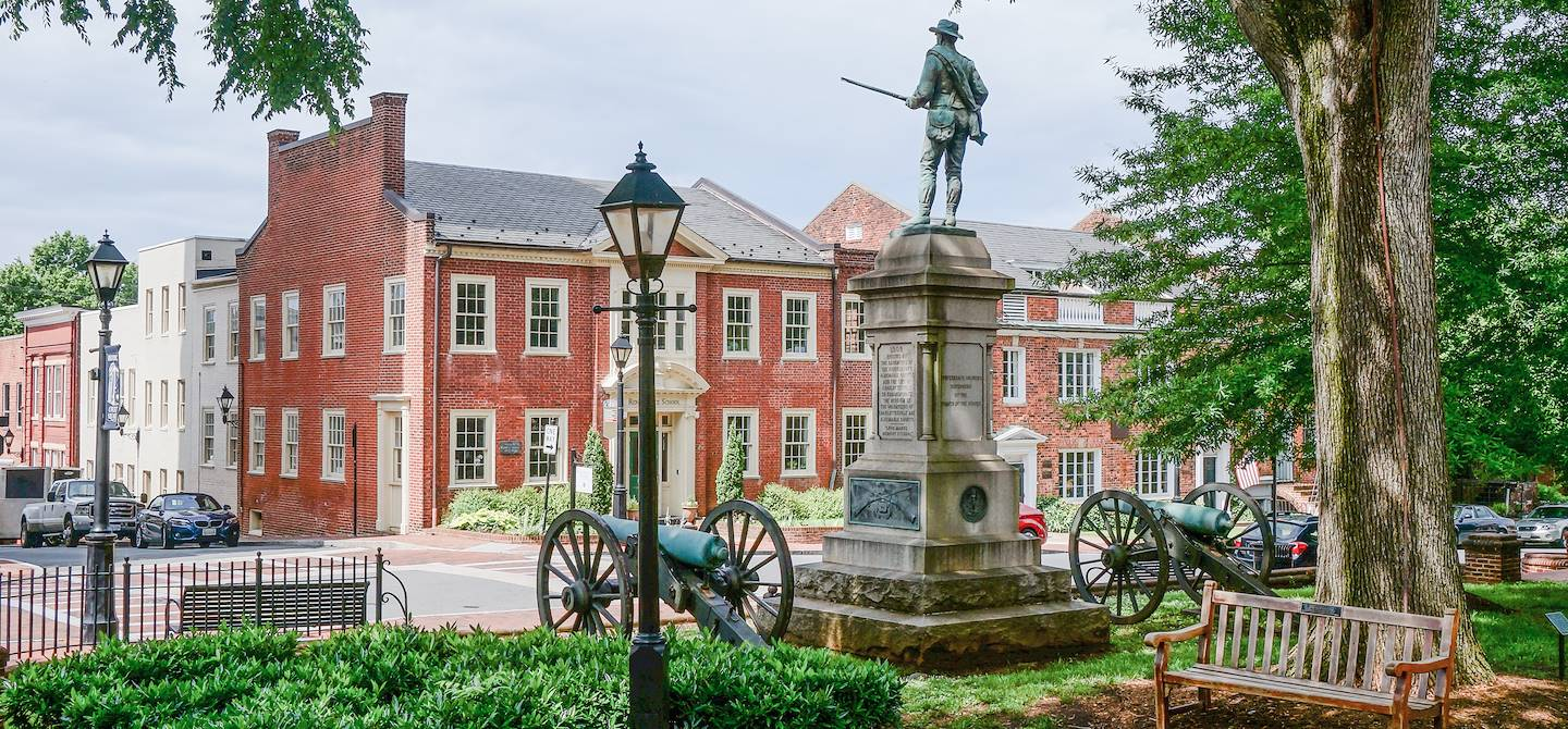 Historic Court Square - Charlottesville - Virginie - Etats-Unis