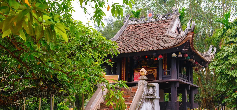 Pagode au pilier unique - Hanoi - Vietnam