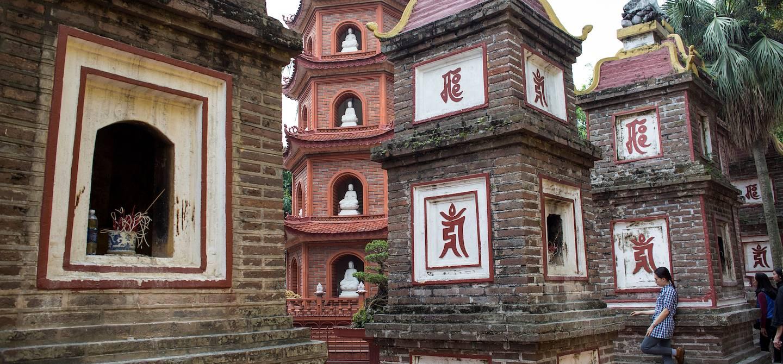 La pagode Tran Quoc - Hanoï - Vietnam