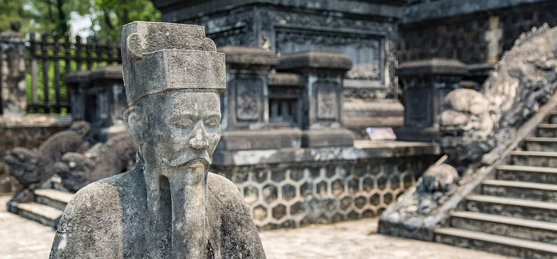 Tombeau de Khai Dinh - Hué - Vietnam