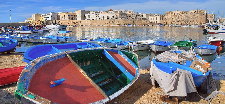 Vieille ville de Gallipoli - Pouilles - Italie