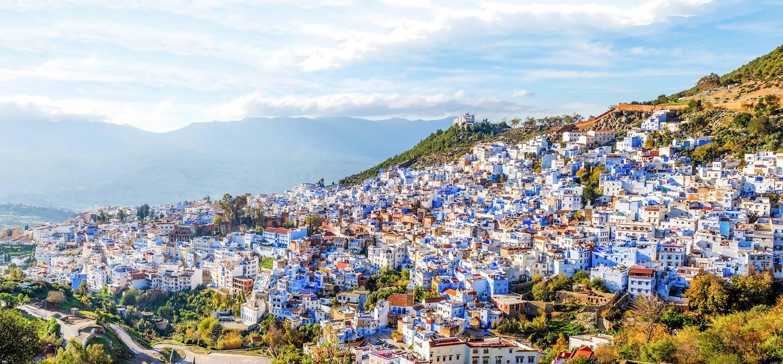 La ville bleue de Chefchaouen - Maroc
