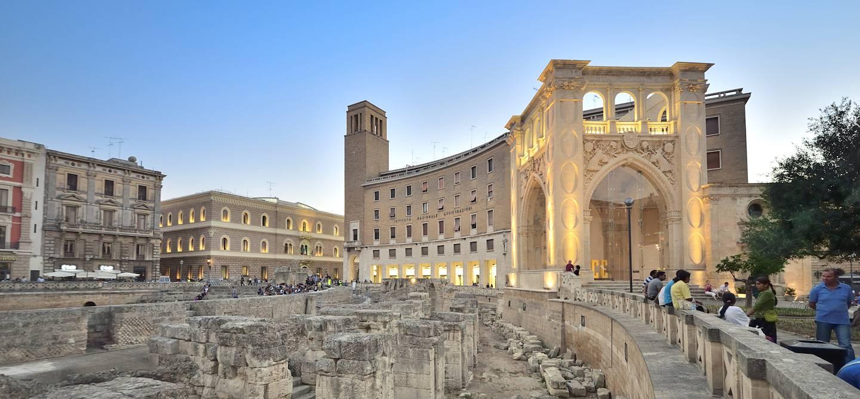 Amphithéâtre romain - Lecce - Pouilles - Italie