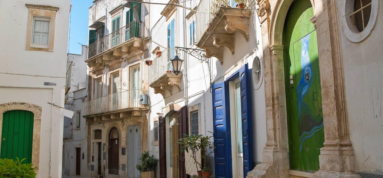 Dans les rues de Martina Franca - Région des Pouilles - Italie