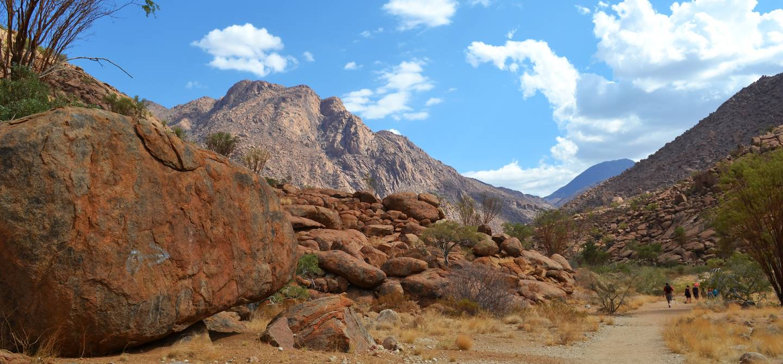 Le Massif de Brandberg - Namibie