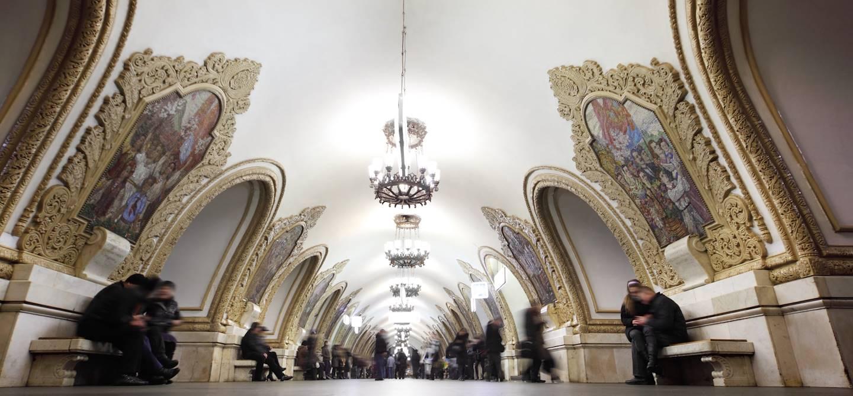 Métro de Moscou - Russie