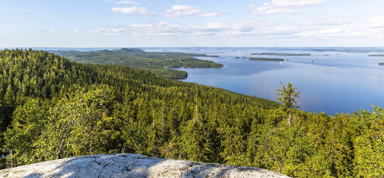 Le lac Pielinen dans le parc national de Koli - Carélie du Nord - Finlande