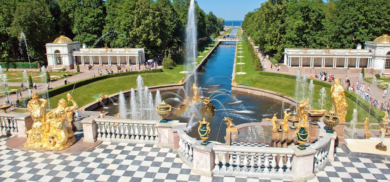 Château de Peterhof - Russie