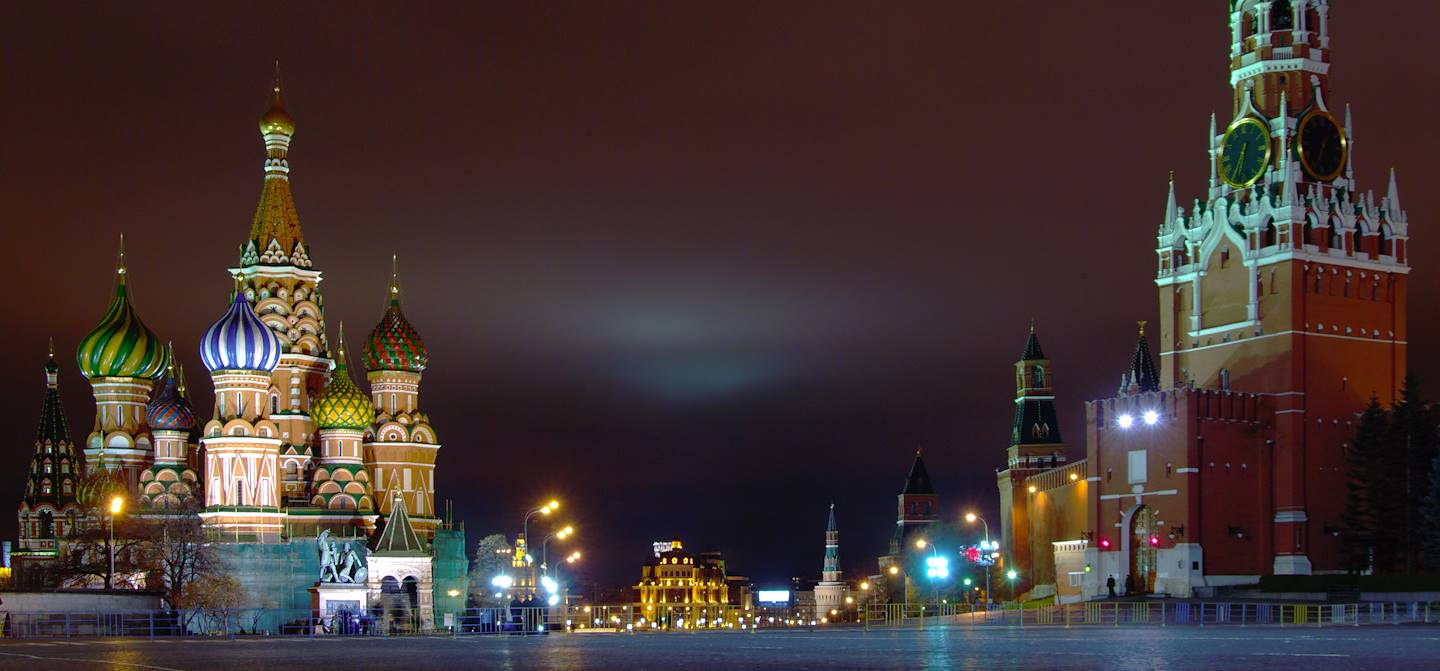 Place Rouge - Moscou - Russie