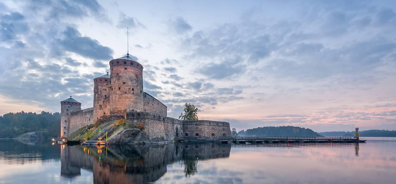 Le château fort d'Olavinlinna - Savonlinna - Finlande