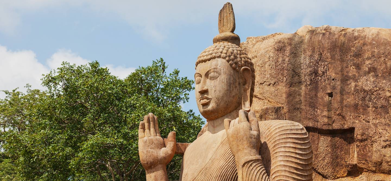 Bouddha Avukana - Province du Centre-Nord - Sri Lanka