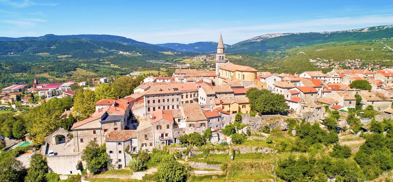 Vue générale - Buzet - Istrie - Croatie