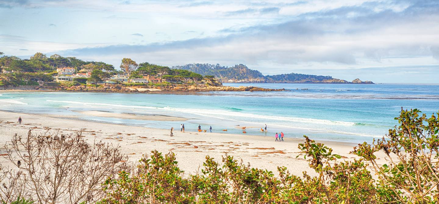 Plage de Carmel by the Sea - Californie - États-Unis