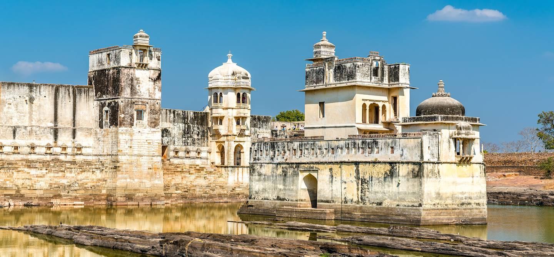 Maharani Shri Padmini Mahal - Palais du fort de Chittorgarh - Inde