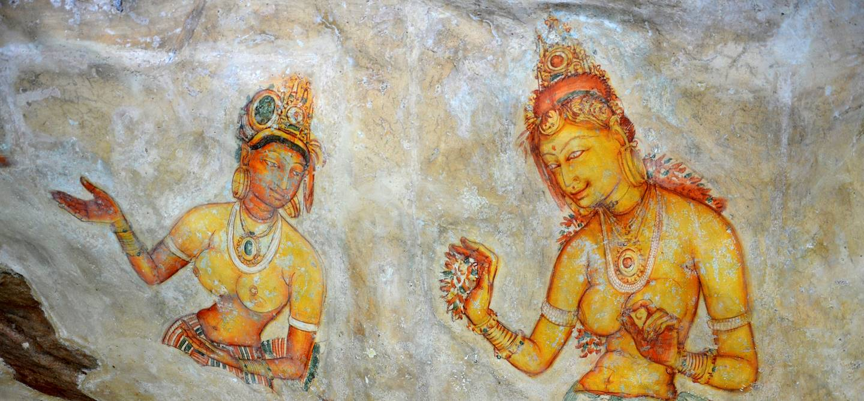 Les Demoiselles de Sigiriya  - Province du Centre - Sri Lanka