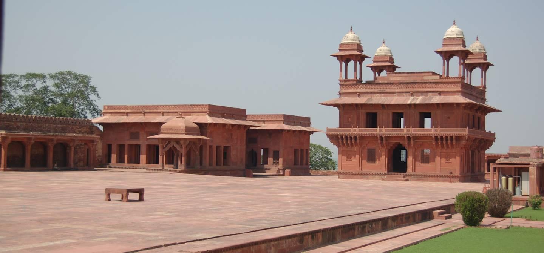Diwan i Khas - Fatehpur Sikri - Uttar Pradesh - Inde