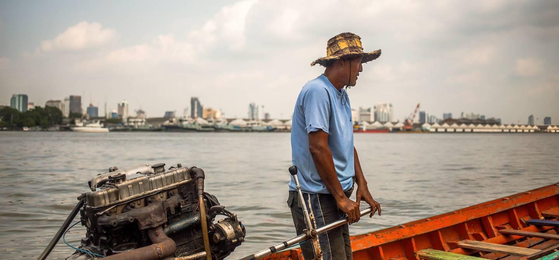 Traversée du fleuve Chao Phraya - Bangkok - Thaïlande