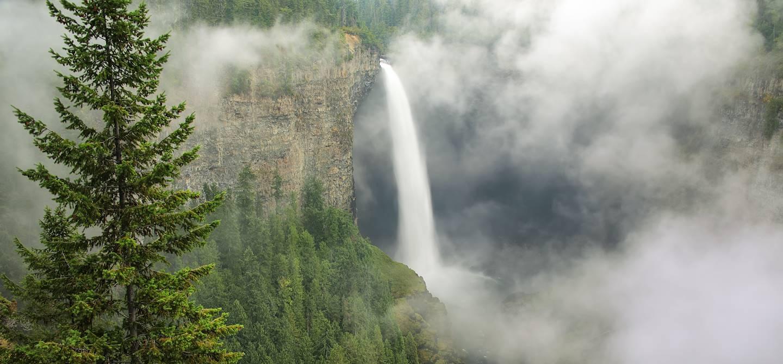 Chutes de Helmcken - Parc provincial Wells Gray - Canada