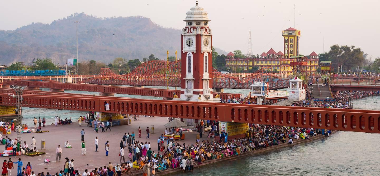 Le ghat Har Ki Pauri - Haridwar - Inde