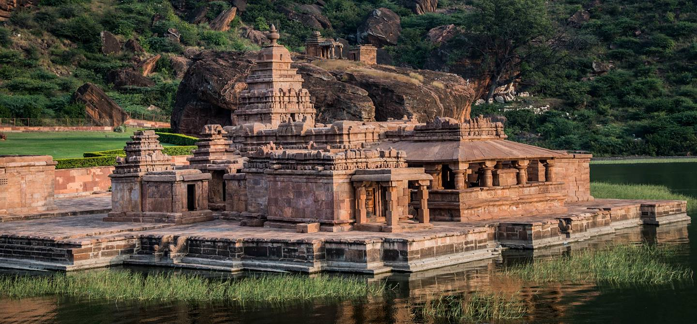 Grottes de Badami - État du Karnataka - Inde