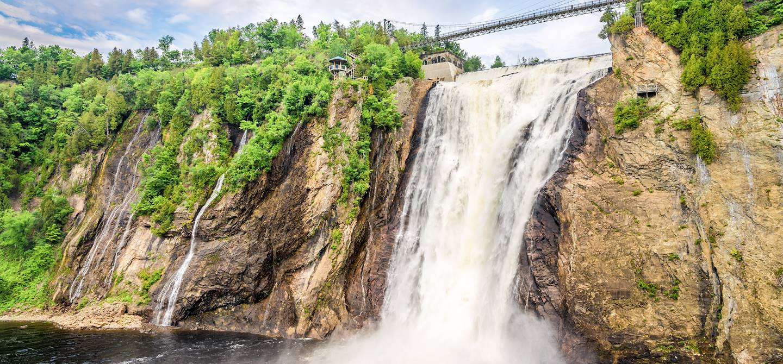La chute Montmorency - Province de Québec - Canada