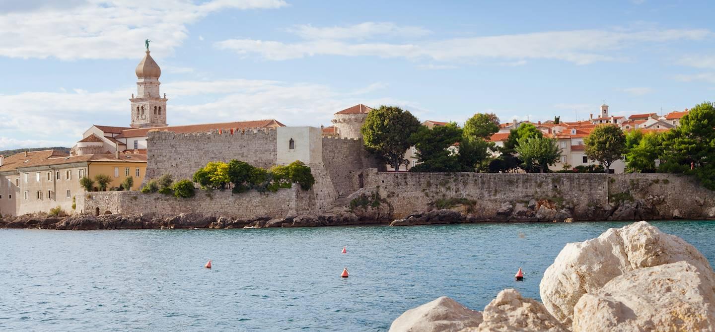 Vieille ville de Krk - Ile de Krk - Comitat d'Istrie - Croatie