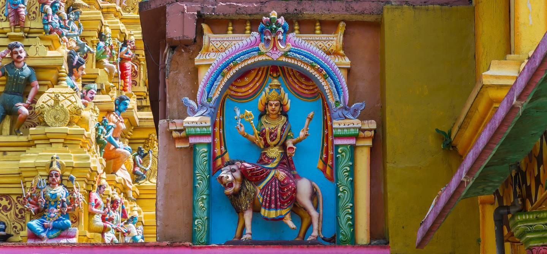 Détail du temple de Sri Muthumari Amman Kovil - Matale - Sri Lanka
