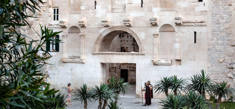 Porte d'Or du Palais de l'empereur Dioclétien - Split - Croatie
