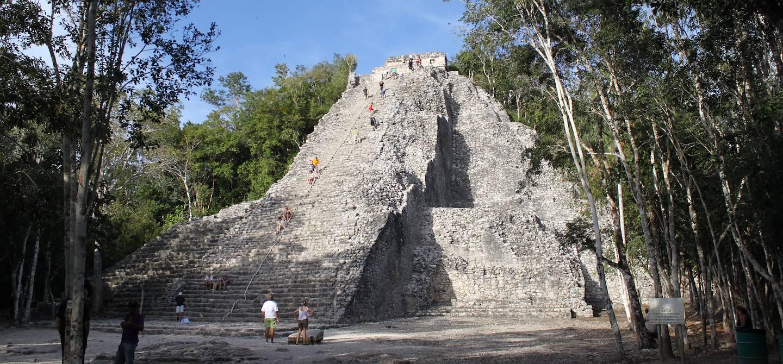 Site archéologique de Cobá - Yucatán - Mexique