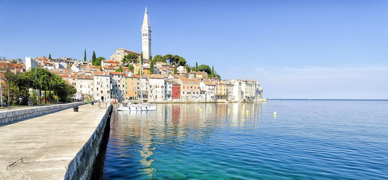 Vieille ville - Rovinj - Comitat d'Istrie - Croatie