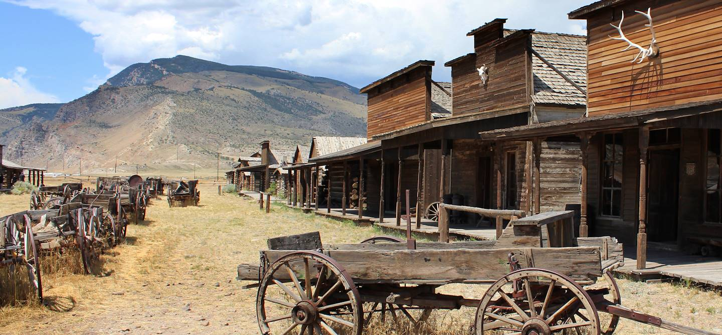 Old Trail Town - Cody - Etat de Wyoming - Etats-Unis
